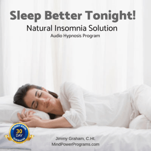 Sleep Better Tonight! Insomnia Audio Hypnosis MP3 Program