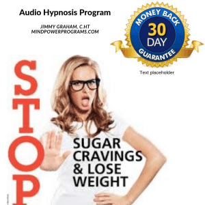Stop sugar sweets cravings Audio Hypnosis MP3 Program