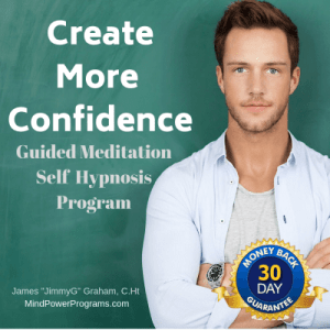 create more confidence Guided meditation self hypnosis mp3 program