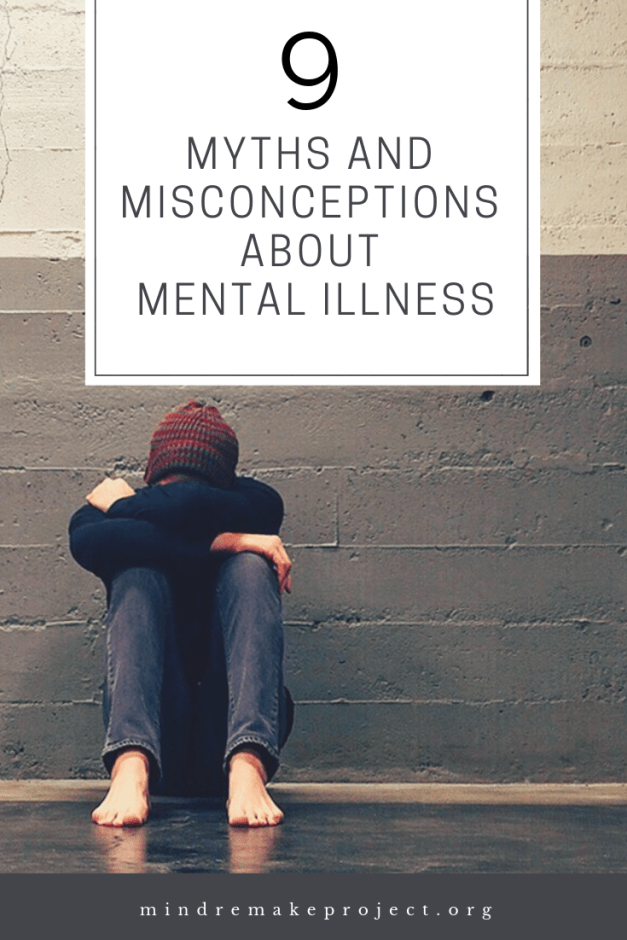 misconceptions about mental illness