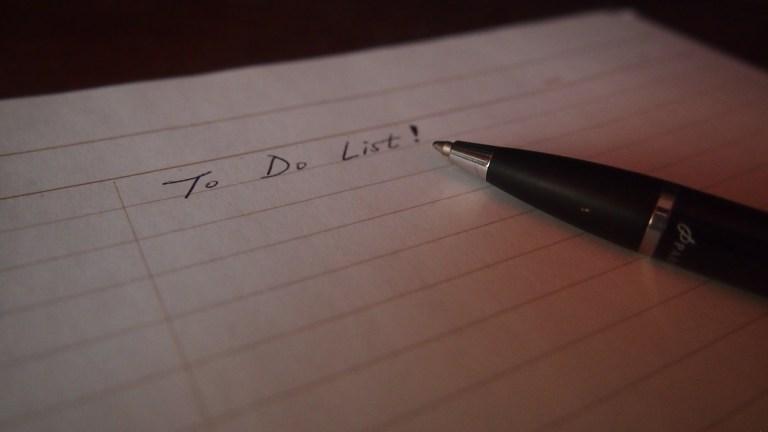 therapist bucket list