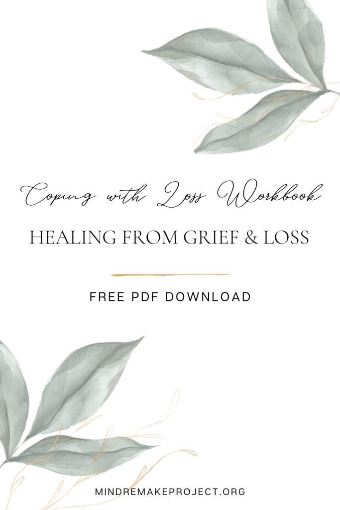 free grief workbook