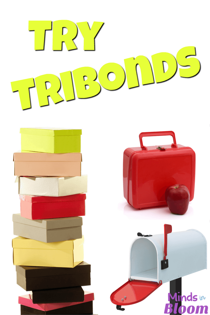 TriBonds is a fun word game that gets kids thinking creatively, critically, and laterally. You can play it as part of a center rotation, during a few spare minutes of class, or on a road trip! Check out some free examples of TriBonds in this post.