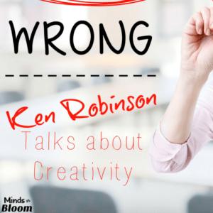 Ken Robinson Talks about Creativity