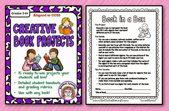 If you're looking to spice up your book report assignments, then this is the list for you. Rachel shares 10 creative book report ideas that won't have your students begging for another project type!