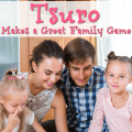 Tsuro is an Eastern-inspired game that is simple in its essence but complex in play. It's a wonderful game to play with the whole family.
