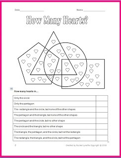 Free Valentine's Day Worksheet