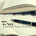 A pensee poem is a fun poem used to described a particular subject. Each line is comprised of a certain count of syllables. Challenge your students with this free pensee poem. Click through to download it now!