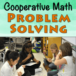 Cooperative Math Problem Solving
