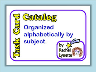 Task Card Catalog