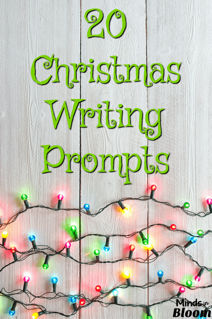 Christmas creative writing exercises
