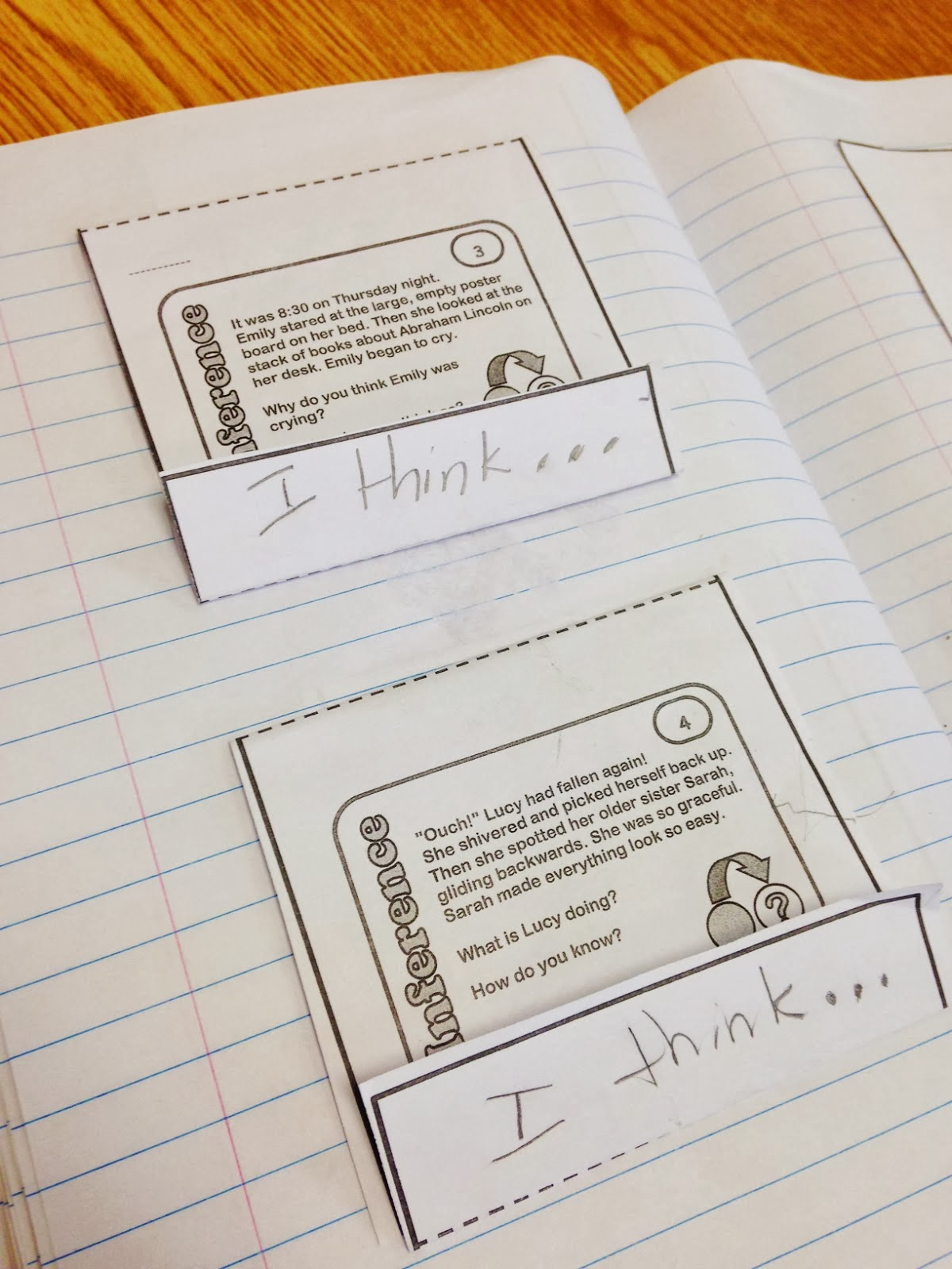 Task Card Fun With Sticky Hands