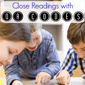 Close Readings with QR Codes