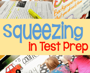 Squeezing in Test Prep