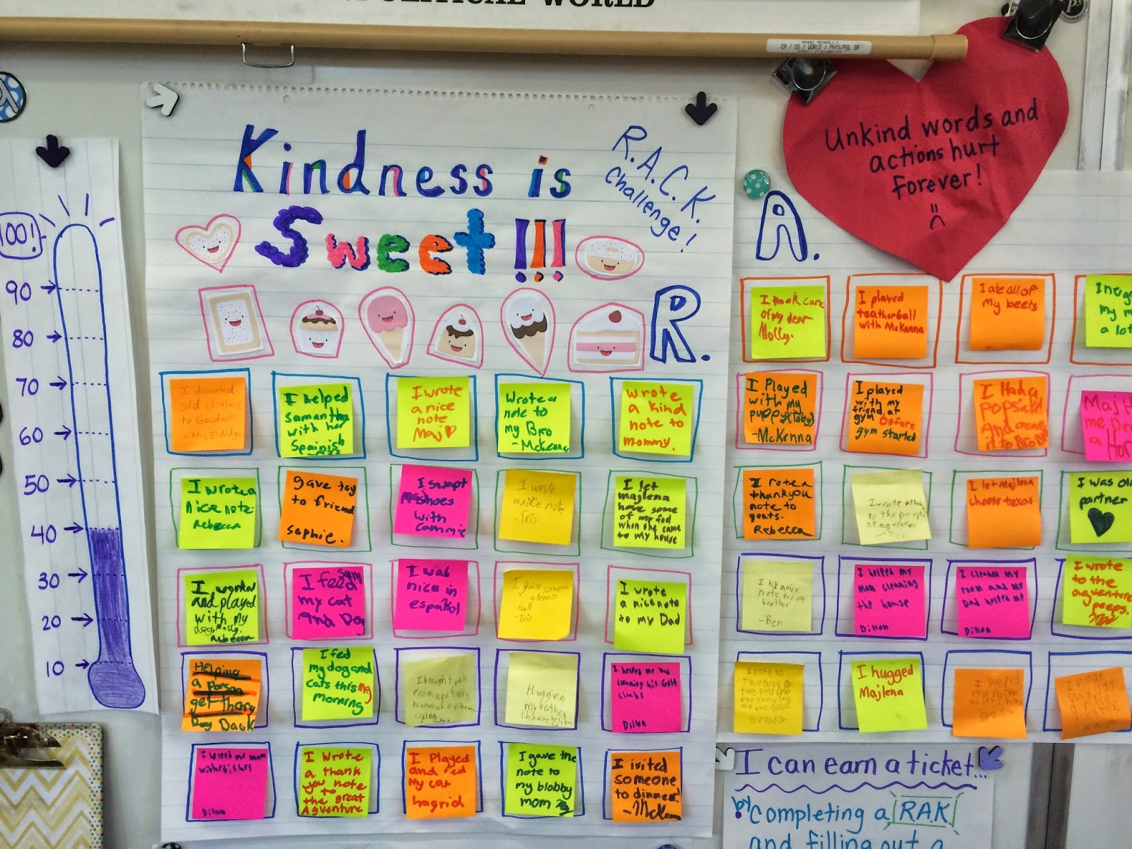 Random Acts Of Kindness One Teacher S Amazing Plan