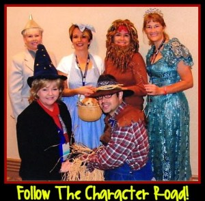 Follow the Character Road