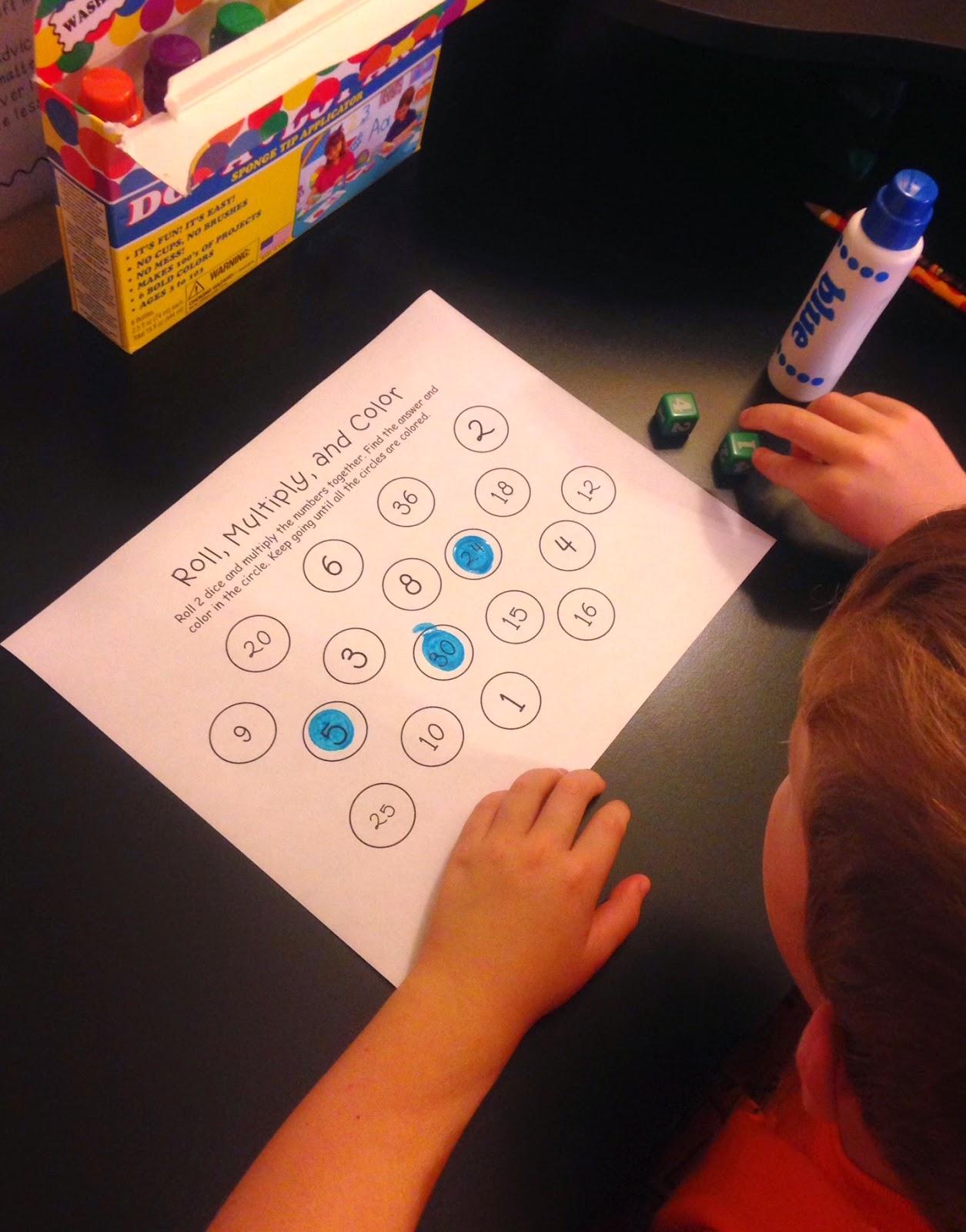 Fun Ways To Practice Multiplication
