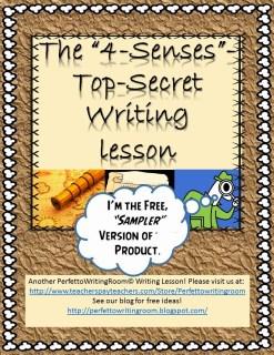 4 Senses Guided Short Story Activity