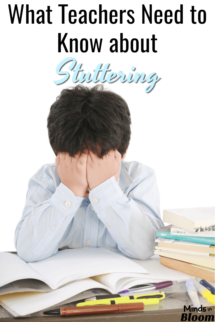Every once in a while, teachers get children who stutter in their classes. Depending on your student's age, this may or may not be a point of contention and discomfort for them. This guest post, written by a speech-language pathologist, shares important tips and information that teachers need to know about stuttering to help their students succeed.
