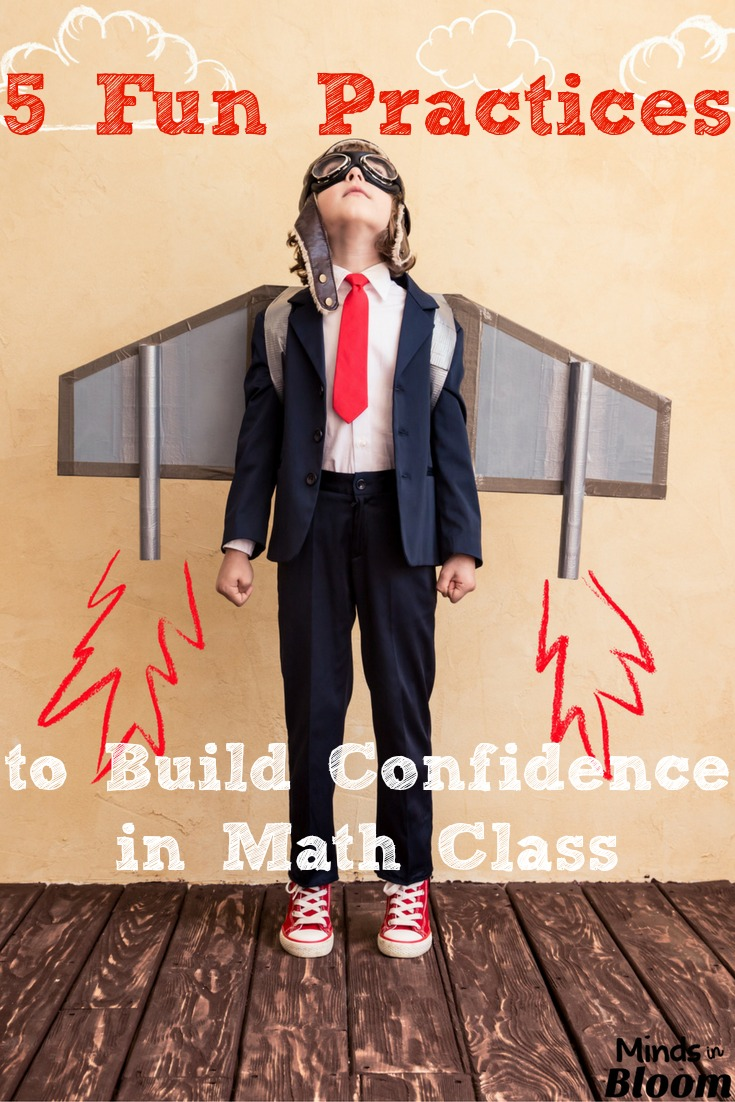 It's important to build confidence in math class for many students, because they don't believe they're capable of learning math. These five strategies will help you make math class feel safe, fun, and worthwhile for your students who struggle.