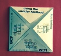 When teaching factoring, finding the GCF is easy with the ladder method! This is a sure-fire way to help your students both quickly find the GCF when factoring and complete the factoring process quickly and correctly!