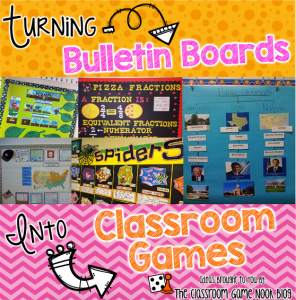Turning Bulletin Boards into Classroom Games