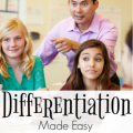 Differentiation has become a huge buzzword in the education field in the last several years, but what many teachers don't realize is that they're probably already differentiating their instruction! Our guest blogger shares four tips for differentiating instruction in this blog post, so click through to learn more.