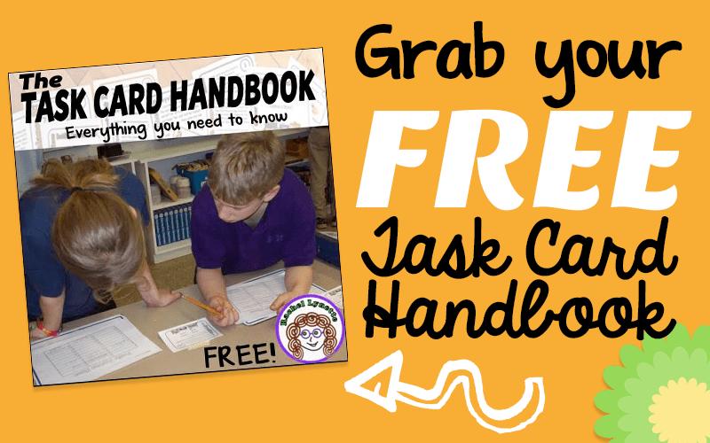 FREE Taskcard Handout!