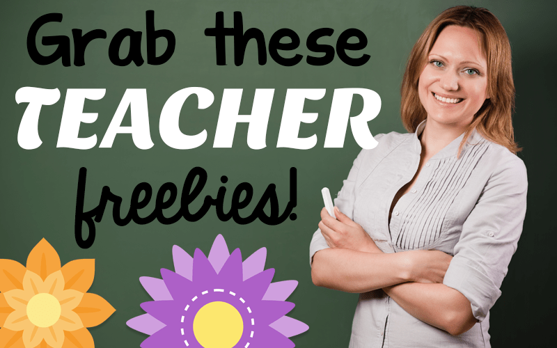 Teacher Freebies!