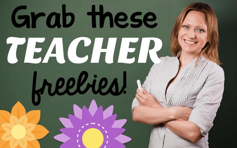 Teacher Freebies!