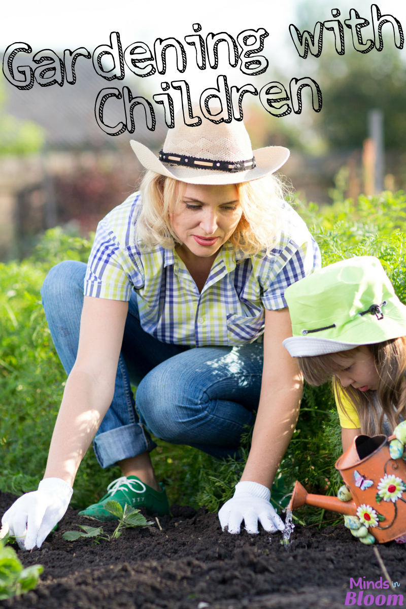 Gardening with children is an awesome way to take learning outdoors and make it more authentic. Read about the learning benefits of gardening in this post.