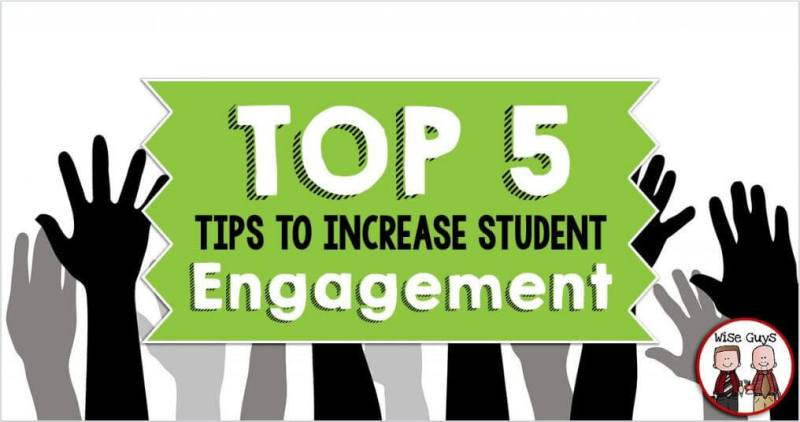 Start the school year off strong by implementing these five tips to increase student engagement. Your classroom will run more smoothly than it ever has when you do things like give your students opportunities to move and show them how much you care about them.