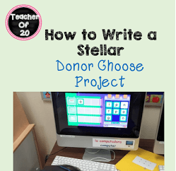 How to Write a Stellar Donors Choose Project