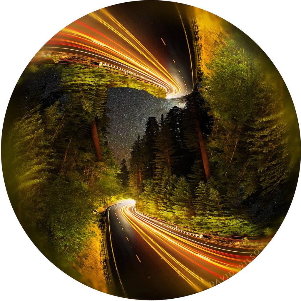 US 101 Redwood Highway Para-Symmetrical Mandala