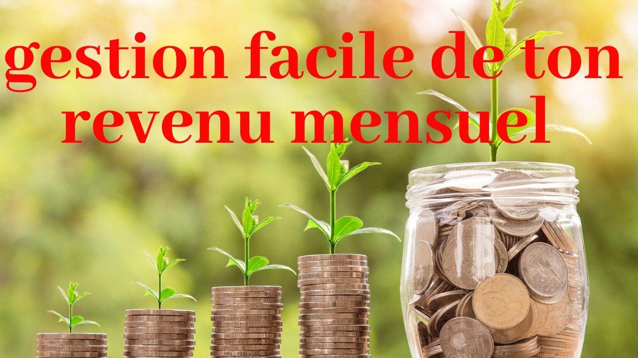 Gestion de revenus mensuel: La méthode de T Harv EKER
