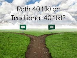 401 (k) Traditional Plan vs. Roth plans
