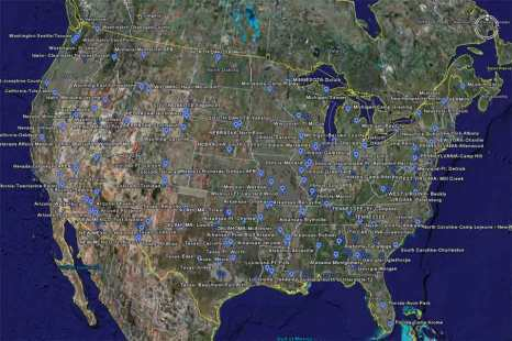 every dot is where a FEMA is already located