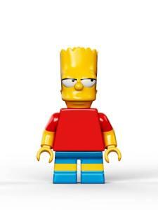 Lego Simpsons set 7106 Bart