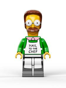 Lego Simpsons set 7106 Flanders