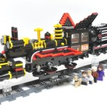 Lego Idea BTTF Jules Verne Train