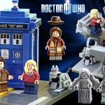 Lego Idea Dr Who and Companions