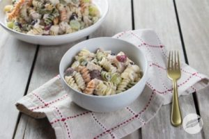 Cranberry Chicken Pasta Salad