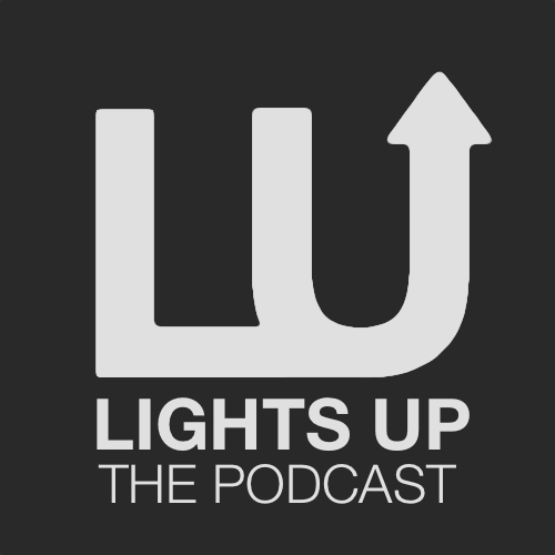 Lights Up: The DC Theatre Podcast Logo