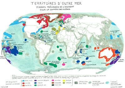 Outre-mer : pierres précieuses de l'Occident pour le contrôle des océans