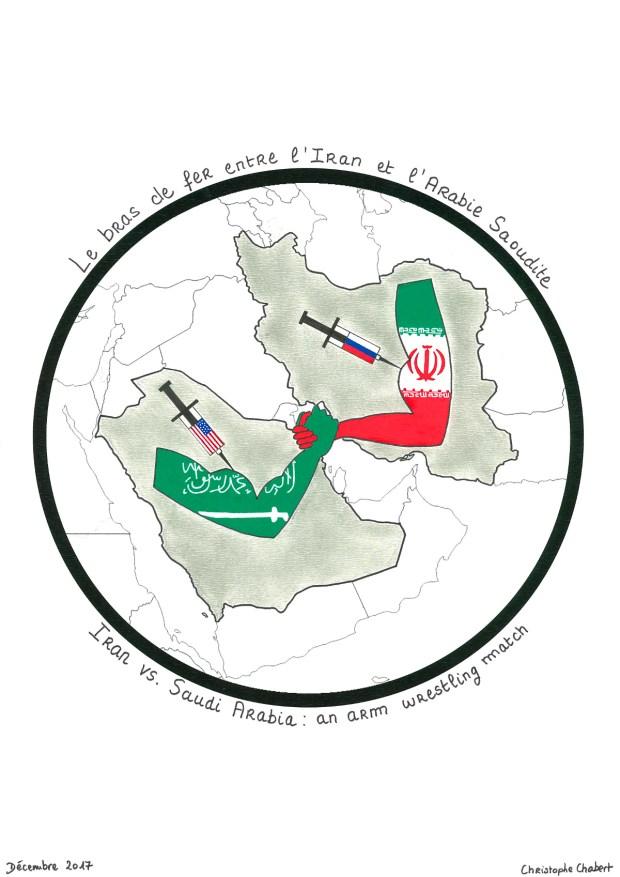 Lutte de pouvoir entre l'Arabie Saoudite et l'Iran