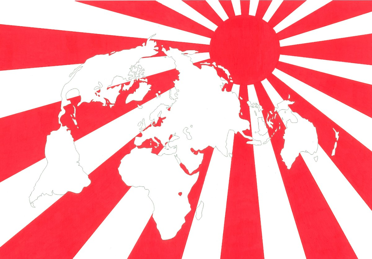 Japan, the country of the rising sun
