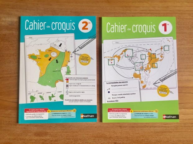 cahiers croquis dunod
