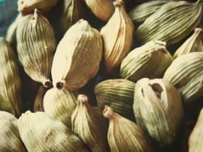Elaichi or Cardamom pods