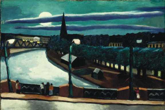 Max Beckmann, Moon Landscape, 1925