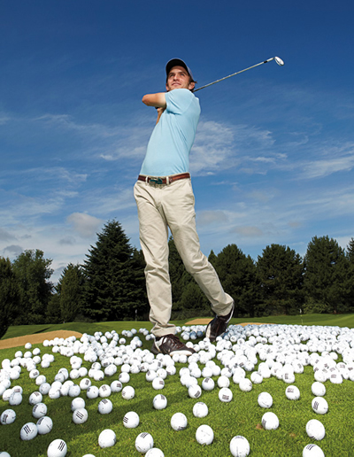 тренировка ударов в гольфе